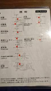 牛タン酒場 SHIRUSHI - メニュー