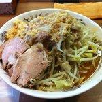 らー麺 シャカリキ - シャカ豚大(アブラ増しニンニクカラメ)