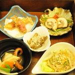 櫓庵治 - 5月の料理