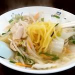 天龍 - 天龍 銀座街店@川崎 タンメンの麺