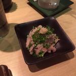 串かつ若 - ミノポン酢