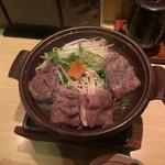 串かつ若 - 近江牛陶板焼き