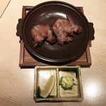 鮮魚と郷土料理の店 たつと - 牛タンステーキ(1,490円)