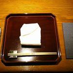 御料理 大嵓埜 - カウンター席の一例 2017年12月
