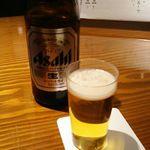 御料理 大嵓埜 - (飲み放題) 中瓶ビール 2017年12月
