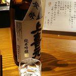 御料理 大嵓埜 - (飲み放題) 日本酒 上喜元 (純米吟醸・山形県) 2017年12月