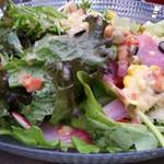 肉とお酒のお店 iRo8 produce by BEEF IMPACT - 鮮サラダ