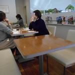 グラン ダ ジュール - カフェスペース