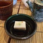 ほしの村 - 料理写真:蕎麦豆腐(^-^)v