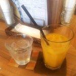 ラ カーサ ディ ノンノ - オレンジジュース