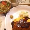洋食屋 金長 - 料理写真:オムかつ ¥1,200 +ライス・スープセット ¥300