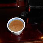 芭蕉庵 - 蕎麦湯