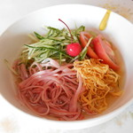 台宝軒 - 料理写真:冷麺(並) v(・∀・*)