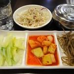新村 シンチョン - ランチ:定食(おかず3種)