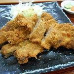 若松食堂 - くじらカツo(^o^)o