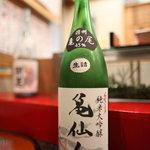 東家 - くどき上手 純米大吟醸 亀仙人