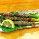 男の手料理 膳 - アスパラの肉巻も美味しいよ〜‼