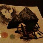 slow dining a.RISE - 相方の、忘れられていたデザートw(チョコレートケーキ)