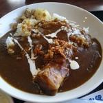 ファミリーレストラン ニューあぶくま - あぶくまカレー(1100円) カレーライス