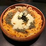 金太銀太 - うにたらこイカのスパゲティ