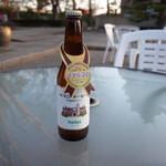 バーベキューガーデン - ヘレス瓶ビール購入
