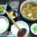 麺処みずの - 料理写真:カレーにゅうめん定食