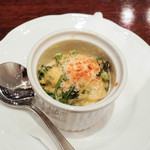 ピッツェリア スペリアーモ! - 牡蠣とホウレン草のグラタンハーフ