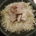 麺処 景虎 ほん田  - ネギポーク丼(ハーフ)