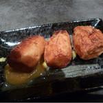 臥薪 炉 - 里芋の柚味噌竜田揚げ