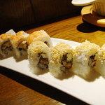 sushi dining 鸞 - クランチロール(シュリンプ・イール)