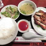 サイゴン - 鶏もも肉の香り焼き \1000