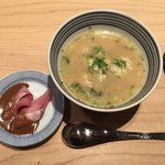 日本橋海鮮丼 つじ半 - 鯛だし茶漬け(後半)