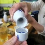 タカマル鮮魚店  - 元締めのお酌(毛八撮り)