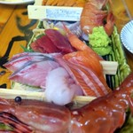 タカマル鮮魚店  - 刺身盛合せ