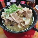 神戸ちぇりー亭 - ド根性醤油らぁめん肉盛り