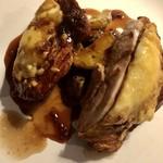 77402297 - 博多地鶏のチーズ重ね焼き