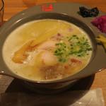 77403140 - 濃厚鶏白湯ラーメン880円