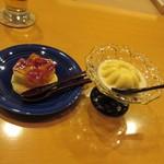 懐石料理 はし本 - デザート2種