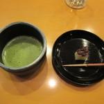 懐石料理 はし本 - お菓子と抹茶