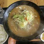 激醤 ちゃんぽん 小山 - 料理写真:賑いちゃんぽん+醤油+ちょい激醤 2017.11/05
