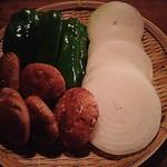 十割そば処 山獲 - 焼き野菜