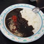 若葉 - ブラックカレー450円