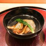 日本料理 太月 - 釣りキンキばちこのお椀