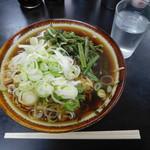77409001 - 山菜そば¥400-