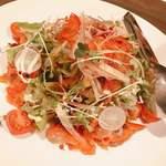 函館海鮮料理 海寿 - 2017.12.2のコース(サラダ)
