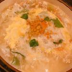 函館海鮮料理 海寿 - 2017.12.2のコース(締めの雑炊)