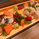 函館海鮮料理 海寿 - 2017.12.2のコース(お造り)