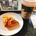 スターバックス・コーヒー - カボチャのスコーンとグランデスターバックスラテ