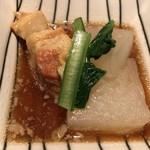 居酒屋 感 - ☆お通しの豚角煮と大根。美味い♪