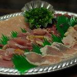 鶏無双 - タタキセット(千円)